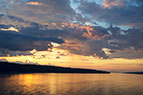 Cayuga Lake Sunset-081415
