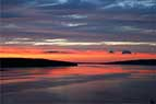 Cayuga Lake Sunset-091015